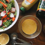 DIY Senf-Vinaigrette-Dressing